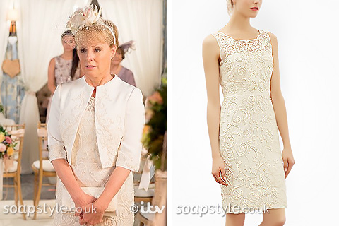 Sally Webster's Wedding Dress in Corrie - SoapStyle