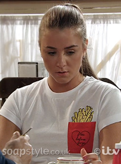 Sophie's Fries T-Shirt in Corrie - SoapStyle