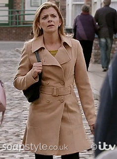 Leanne's Belted Camel Coat / Mac - SoapStyle