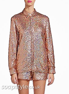 Liz's Sparkly Sequin Shirt