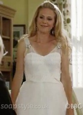 Linda Carter's Wedding Dress in EastEnders - Exclusive - SoapStyle