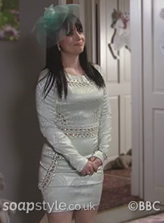Whitney's Mint Green Dress for Linda & Mick's Wedding - SoapStyle