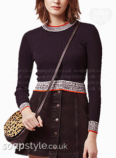 Bethany's Contrast Trim Jumper