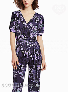 Mary's Floral Jumpsuit
