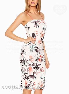 Bethany's floral bodycon dress in Coronation Street - Where From - SoapStyle