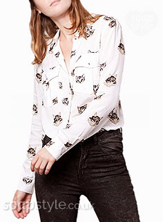Tracy's Cat Shirt / Blouse
